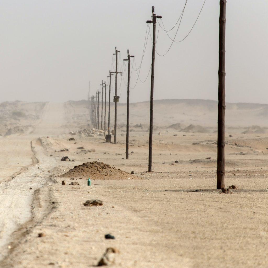 Desert Road, Namibia